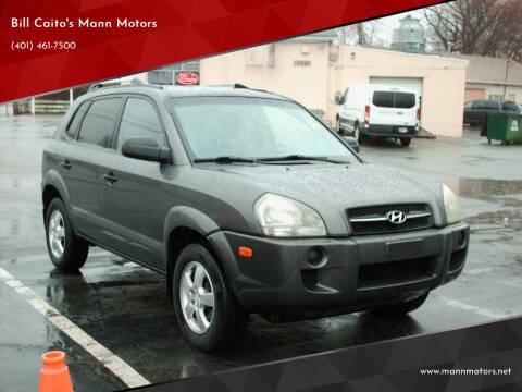 2008 Hyundai Tucson for sale at Bill Caito's Mann Motors in Warwick RI