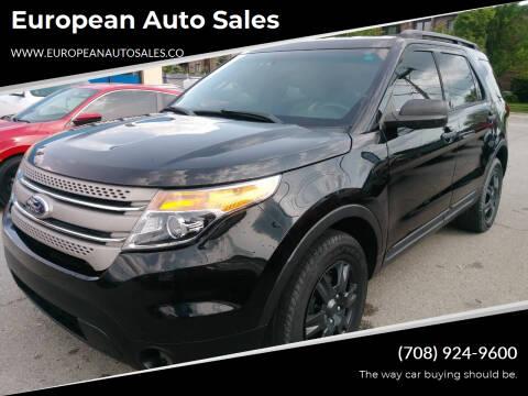 2013 Ford Explorer for sale at European Auto Sales in Bridgeview IL