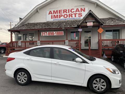 2017 Hyundai Accent for sale at American Imports INC in Indianapolis IN