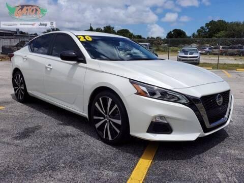 2020 Nissan Altima for sale at GATOR'S IMPORT SUPERSTORE in Melbourne FL
