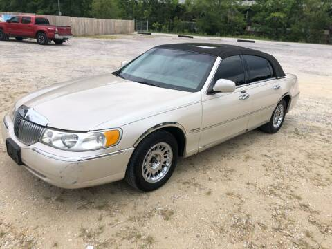 2001 Lincoln Town Car for sale at Hwy 80 Auto Sales in Savannah GA