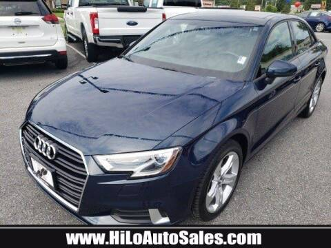 2017 Audi A3 for sale at Hi-Lo Auto Sales in Frederick MD