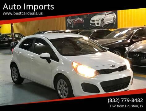 2013 Kia Rio 5-Door for sale at Auto Imports in Houston TX