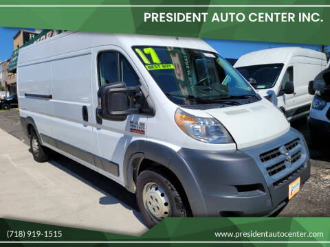 2017 RAM ProMaster Cargo for sale at President Auto Center Inc. in Brooklyn NY