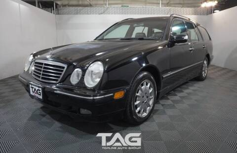 2003 Mercedes-Benz E-Class for sale at TOPLINE AUTO GROUP in Kent WA