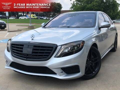 2015 Mercedes-Benz S-Class for sale at European Motors Inc in Plano TX