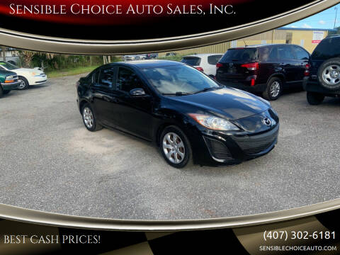 2011 Mazda MAZDA3 for sale at Sensible Choice Auto Sales, Inc. in Longwood FL