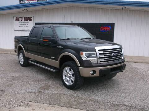 2013 Ford F-150 for sale at AUTO TOPIC in Gainesville TX