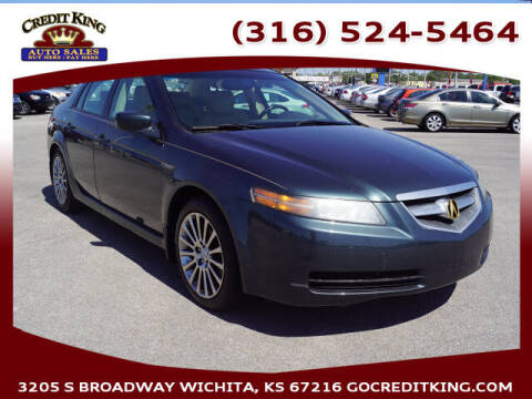 2005 Acura TL for sale at Credit King Auto Sales in Wichita KS