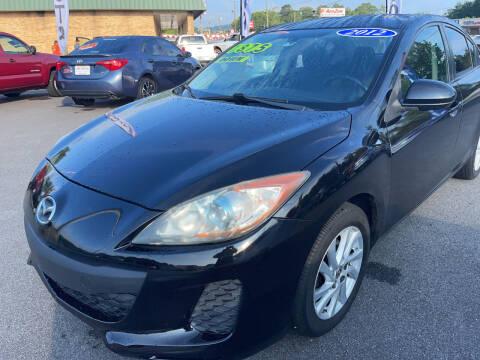 2012 Mazda MAZDA3 for sale at Cars for Less in Phenix City AL