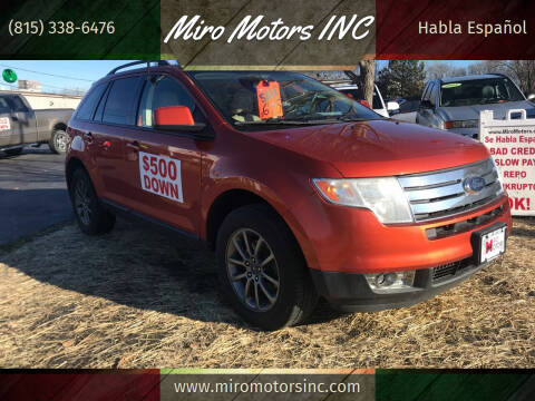 2008 Ford Edge for sale at Miro Motors INC in Woodstock IL