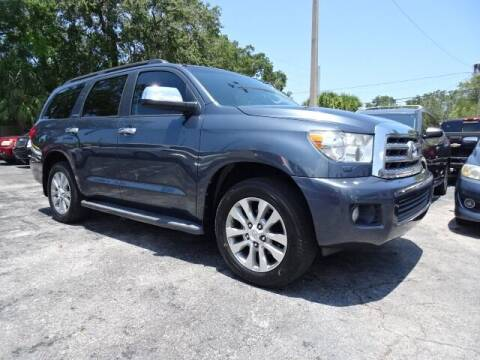 2010 Toyota Sequoia for sale at DONNY MILLS AUTO SALES in Largo FL
