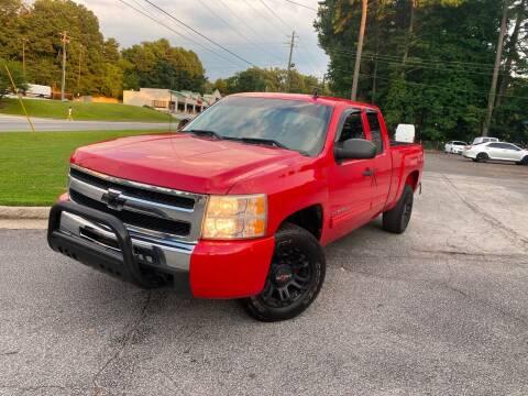 2010 Chevrolet Silverado 1500 for sale at BRAVA AUTO BROKERS LLC in Clarkston GA