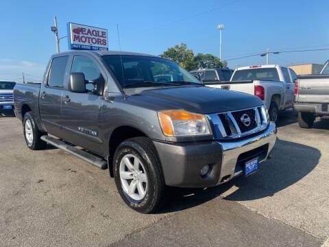 2010 Nissan Titan for sale at Eagle Motors in Hamilton OH