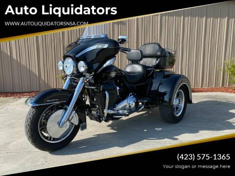 2010 HarleyDavidson UltraClassicTriGlide for sale at Auto Liquidators in Bluff City TN