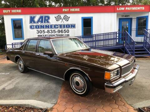 1986 Chevrolet Caprice for sale at Kar Connection in Miami FL