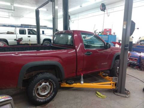 2005 Chevrolet Colorado for sale at J & S Motors in Chardon OH