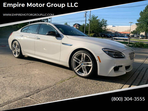 2016 BMW 6 Series for sale at Empire Motor Group LLC in Plaistow NH