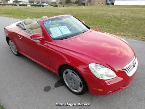 2002 Lexus SC 430 for sale at Matt Hagen Motors in Newport NC