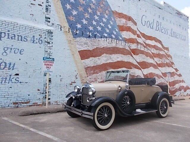 1929 Ford Model A for sale at LARRY'S CLASSICS in Skiatook OK