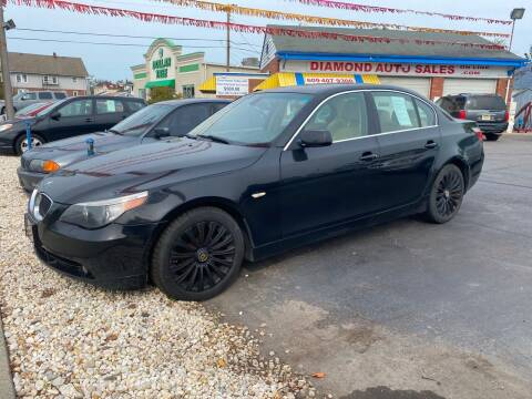 2007 BMW 5 Series for sale at Diamond Auto Sales in Pleasantville NJ
