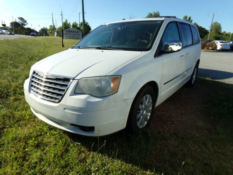 2010 Chrysler Town and Country for sale at Creech Auto Sales in Garner NC
