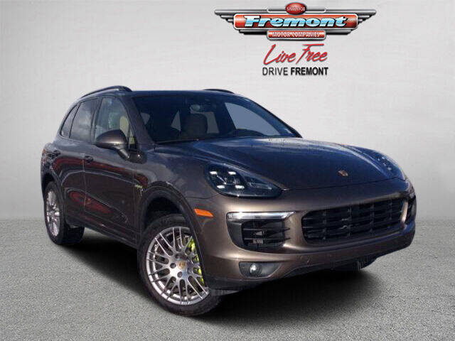 2016 Porsche Cayenne for sale at Rocky Mountain Commercial Trucks in Casper WY