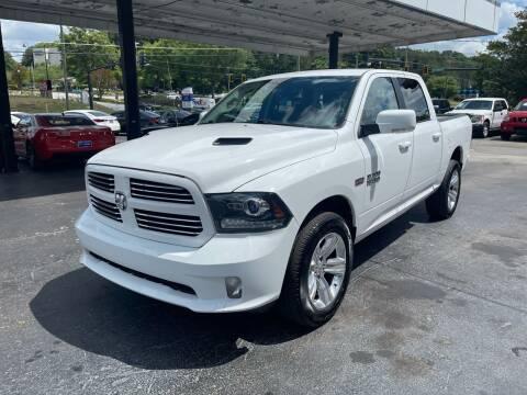 2017 RAM Ram Pickup 1500 for sale at Magic Motors Inc. in Snellville GA