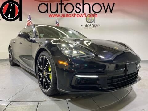 2018 Porsche Panamera for sale at AUTOSHOW SALES & SERVICE in Plantation FL