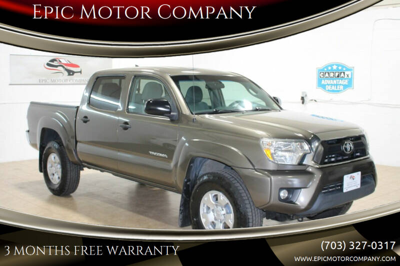 2015 Toyota Tacoma for sale at Epic Motor Company in Chantilly VA