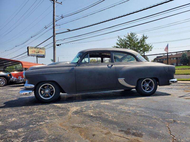 1954 Chevrolet 210 for sale at C & C AUTO SALES in Riverside NJ