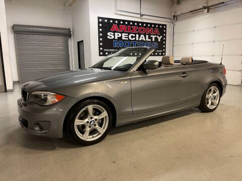 2012 BMW 1 Series for sale at Arizona Specialty Motors in Tempe AZ
