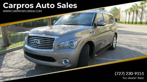 2014 Infiniti QX80 for sale at Carpros Auto Sales in Largo FL