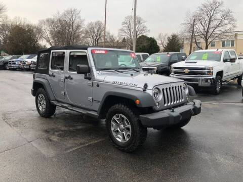 2016 Jeep Wrangler Unlimited for sale at WILLIAMS AUTO SALES in Green Bay WI