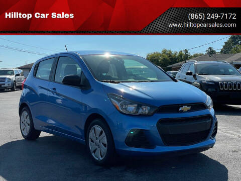 2017 Chevrolet Spark for sale at Hilltop Car Sales in Knoxville TN