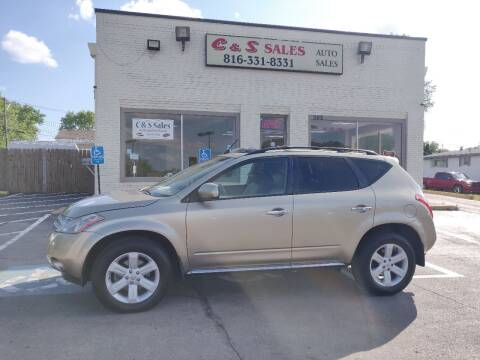 2006 Nissan Murano for sale at C & S SALES in Belton MO