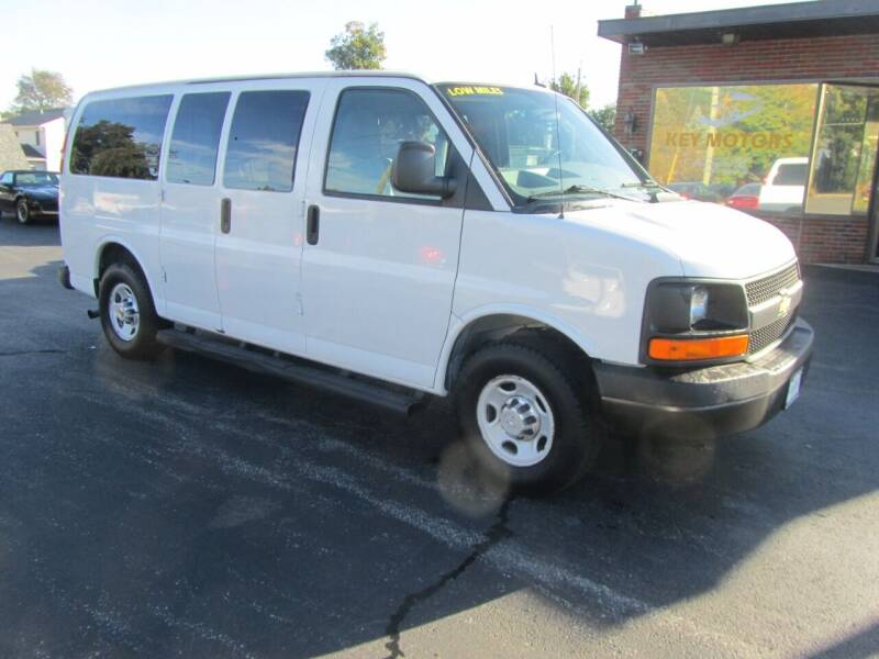 2012 Chevrolet Express Passenger for sale at Key Motors in Mechanicville NY