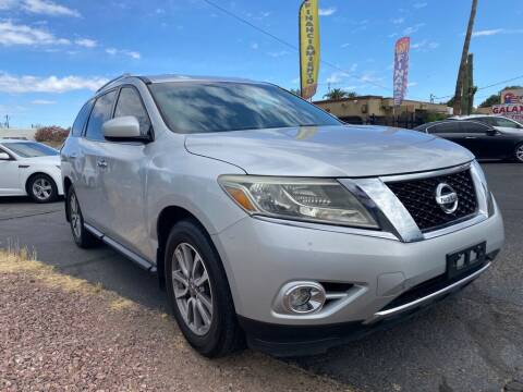 2014 Nissan Pathfinder for sale at GALAXY MOTORS in Tucson AZ