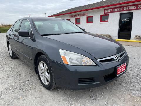 2007 Honda Accord for sale at Sarpy County Motors in Springfield NE