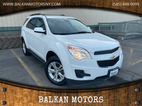 2015 Chevrolet Equinox for sale at BALKAN MOTORS in East Rochester NY