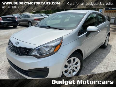 2015 Kia Rio for sale at Budget Motorcars in Tampa FL