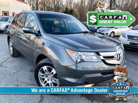 2007 Acura MDX for sale at High Rated Auto Company in Abingdon MD