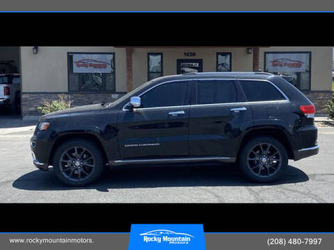 2014 Jeep Grand Cherokee for sale at Rocky Mountain Motors in Idaho Falls ID