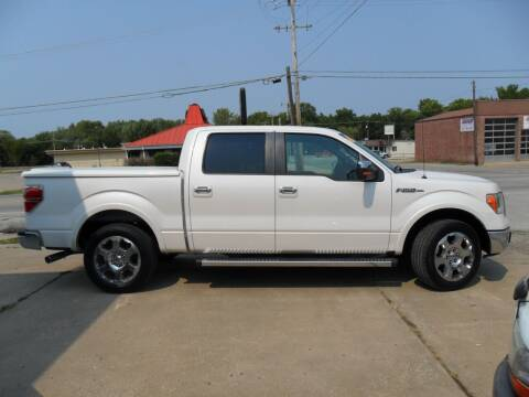 2012 Ford F-150 for sale at C MOORE CARS in Grove OK
