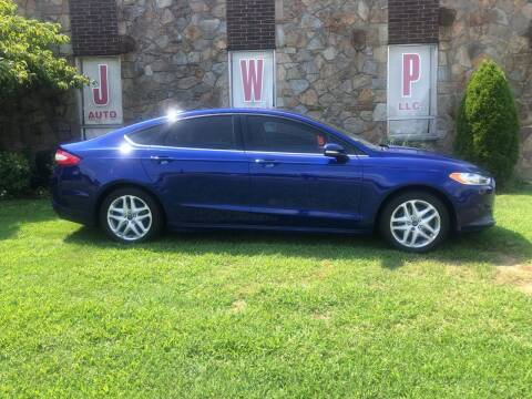 2016 Ford Fusion for sale at JWP Auto Sales,LLC in Maple Shade NJ