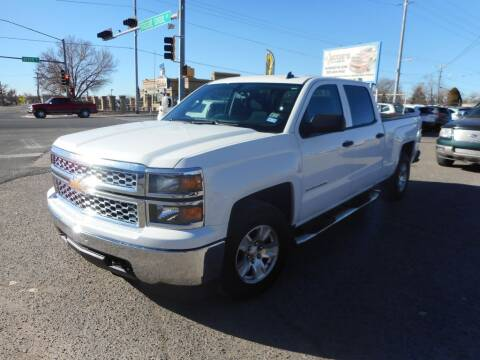 2014 Chevrolet Silverado 1500 for sale at AUGE'S SALES AND SERVICE in Belen NM