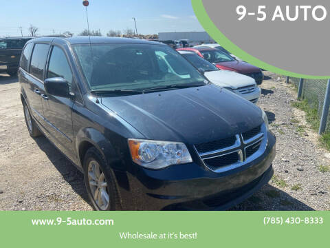 2014 Dodge Grand Caravan for sale at 9-5 AUTO in Topeka KS