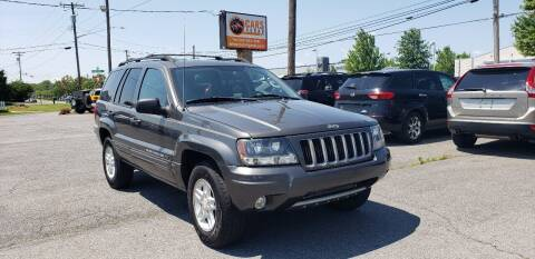 2004 Jeep Grand Cherokee for sale at Cars 4 Grab in Winchester VA