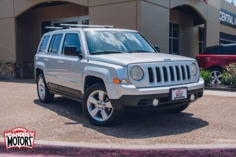 2012 Jeep Patriot for sale at Mcandrew Motors in Arlington TX