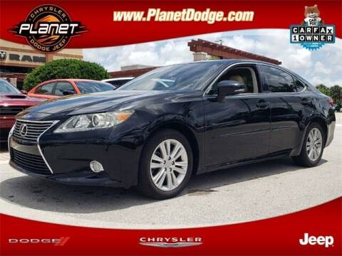 2014 Lexus ES 350 for sale at PLANET DODGE CHRYSLER JEEP in Miami FL
